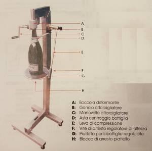 Bilde av Snurremaskin for Champagneflasker