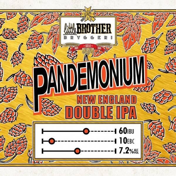 Little Brother Pandemonium NEIPA 25 liter