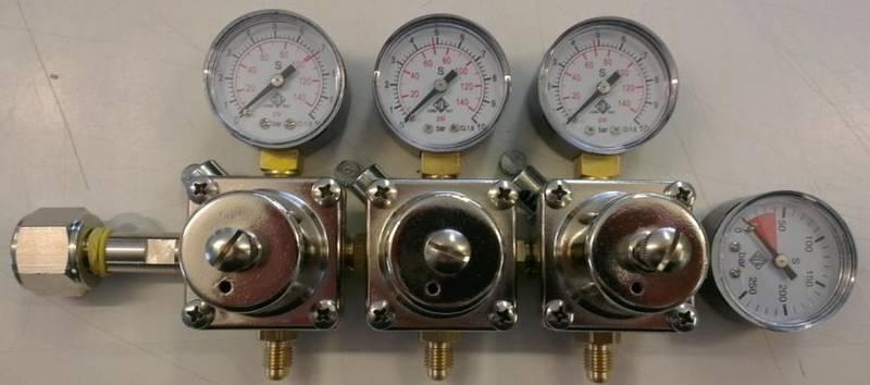 CO2-regulator med 3 utganger ODL