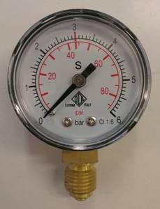 Bilde av Reserveklokke til CO2-regulator (0 - 6 Bar)