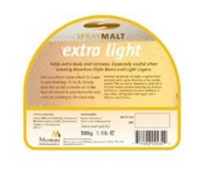 Bilde av Muntons Spraymalt Extra Lys 500 gram