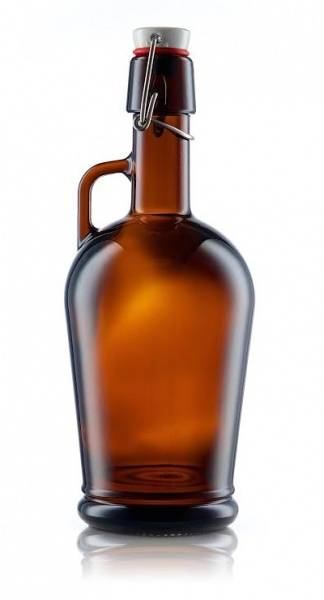 Growler 2 liter (Classico) m/Patentkork i krus