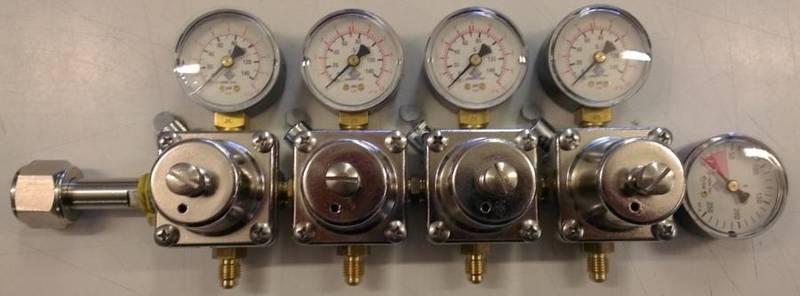 CO2-regulator med 4 utganger ODL