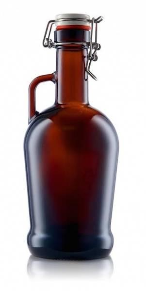 Growler 1 liter (Eterna) m/Patentkork i krus