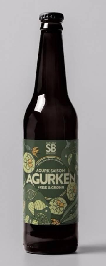 Stjørdalsbryggeriet Agurken, SAISON 25 liter