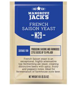 Bilde av Mangrove Jack's yeast M29 French Saison 10 gram