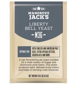 Bilde av Mangrove Jack's yeast M36 Liberty Bell Ale 10 gram