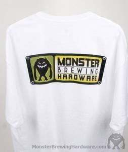 Bilde av Monster T-skjorte Hvit