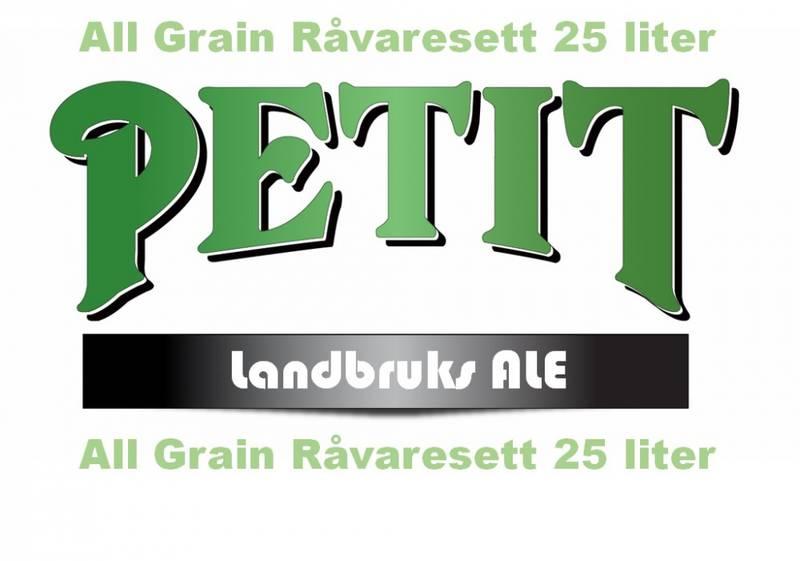 Petit LandbruksAle 25 liter