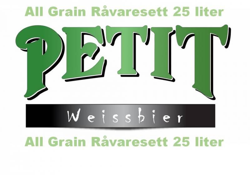 Petit Weissbier 25 liter