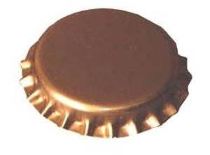 Bilde av Flaskekapsler Gull 29mm - 100 stk