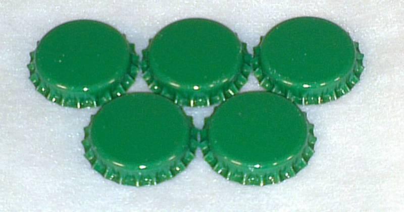 Flaskekapsler Grønn 26mm