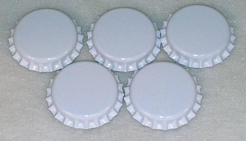 Flaskekapsler Hvit 26mm