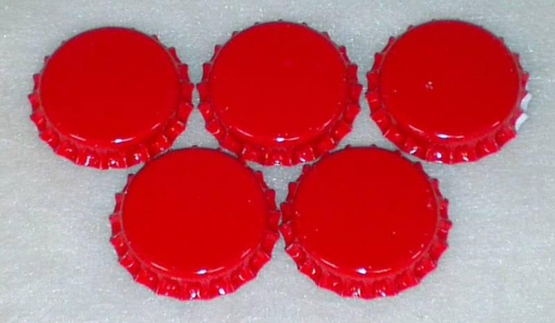 Flaskekapsler Rød 26mm