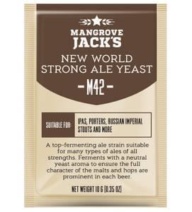 Bilde av Mangrove Jack's yeast M42 New World Strong Ale 10 gram