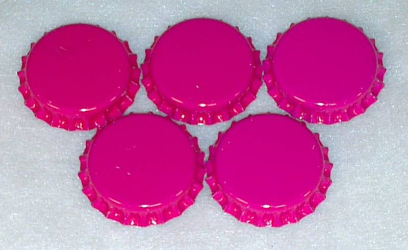 Flaskekapsler Rosa 26mm
