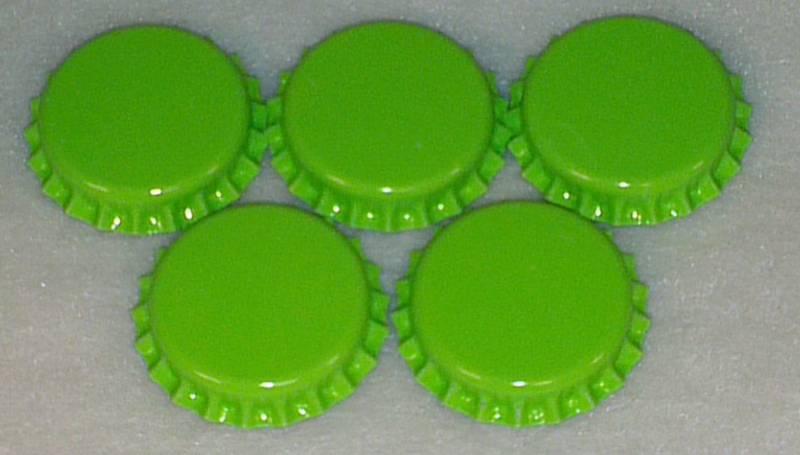 Flaskekapsler Eplegrønn 26mm