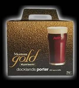 Bilde av Muntons Gold, Docklands Porter, 3 kg
