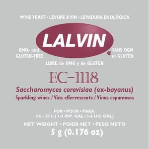 Bilde av Lalvin EC -1118, 5 gram