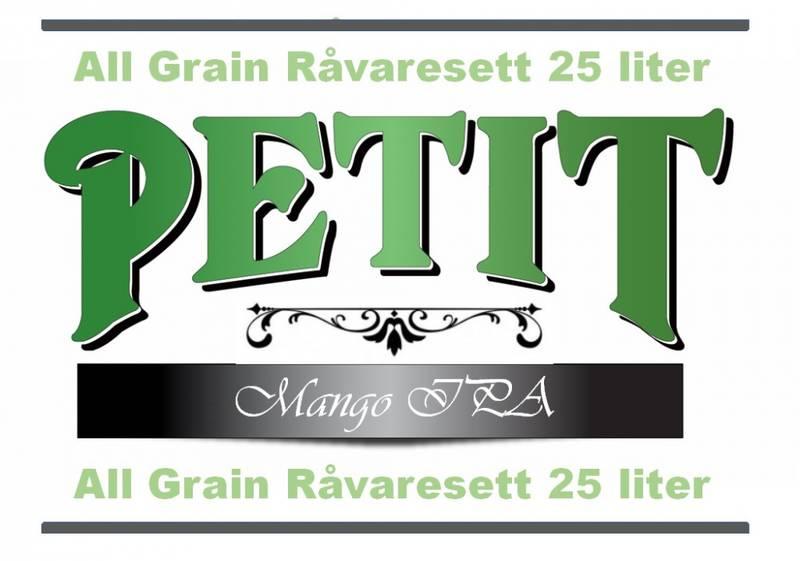 Petit Mango IPA 25 liter