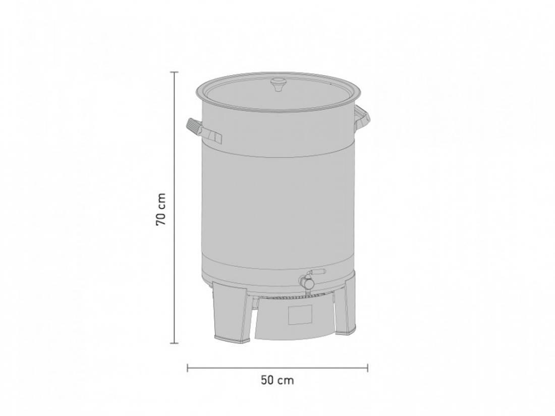 Speidel Braumeister PLUS 50 liter NY