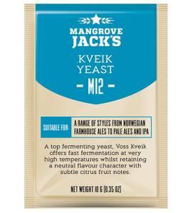 Bilde av Mangrove Jack's CS M12 Kveik Yeast 10gr