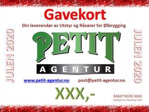 Bilde av Gavekort Petit Agentur AS