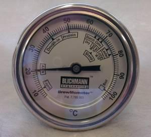 Bilde av Blichmann 1/2 NPT rettvinklet BrewMometer C skala