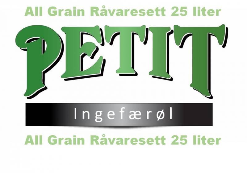 Petit Ingefærøl 25 liter
