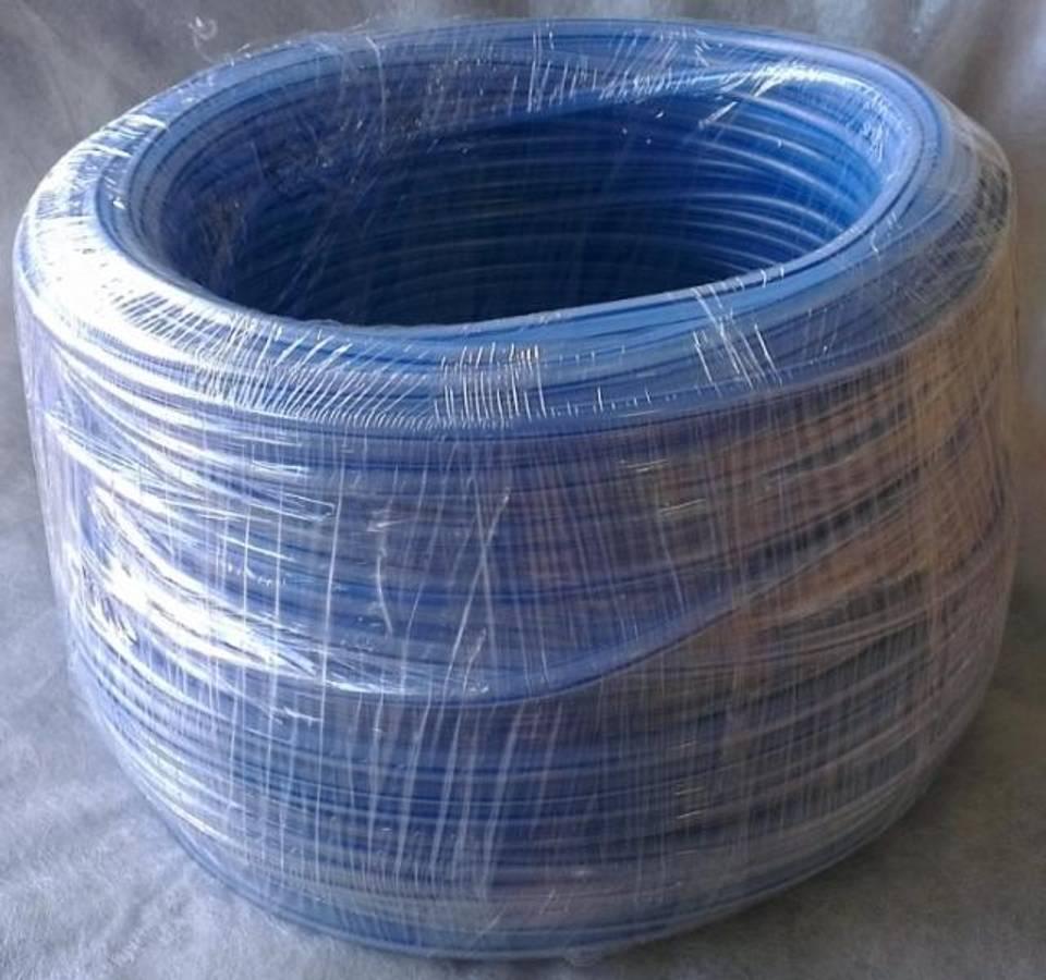 LINDR CO2/luft slange (rør-plast) 6x8 mm (1 m)