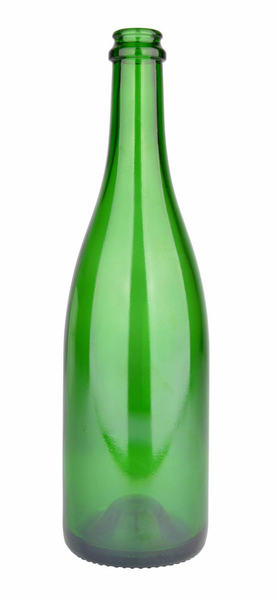 Champagne flaske 750 ml, 775 g, grønn, 29 mm