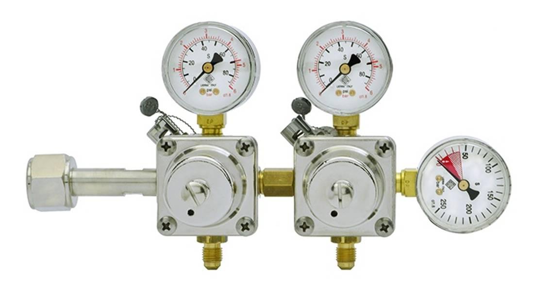 CO2-regulator med 2 utganger ODL