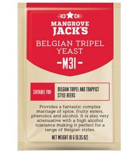 Bilde av Mangrove Jack's CS Yeast M31 Belgian Tripel (10g)