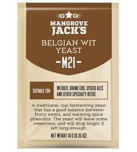 Bilde av Mangrove Jack's CS Yeast M21 Belgian Wit (10g)