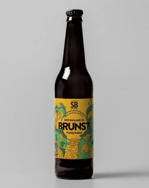 Stjørdalsbryggeriet Brunst, NEIPA 25 liter