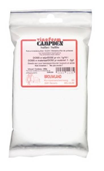 Campden (Potassium Sulfite)