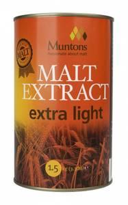 Bilde av Muntons Maltekstrakt extra lys 1,5 kg