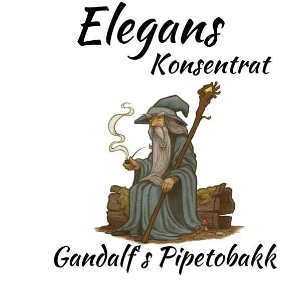 Bilde av Elegans - Gandalf's Pipetobakk, Konsentrat 30 ml