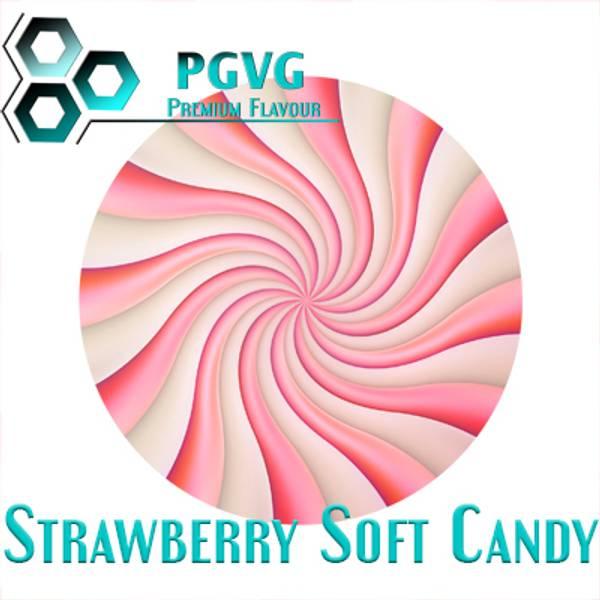 Bilde av PGVG Premium Flavour - Strawberry Soft Candy,