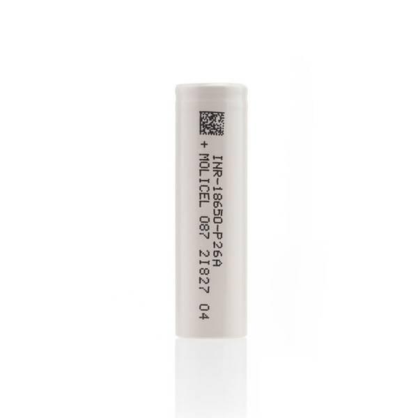 Bilde av Molicell - P26A 18650, Batteri 2600 mAh