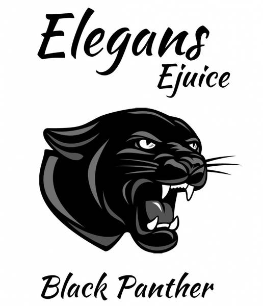 Bilde av Elegans - Black Panther, Ejuice 50/60 ml