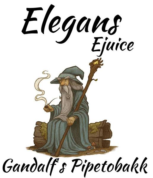 Bilde av Elegans - Gandalf´s Pipetobakk, Ejuice 50/60 ml