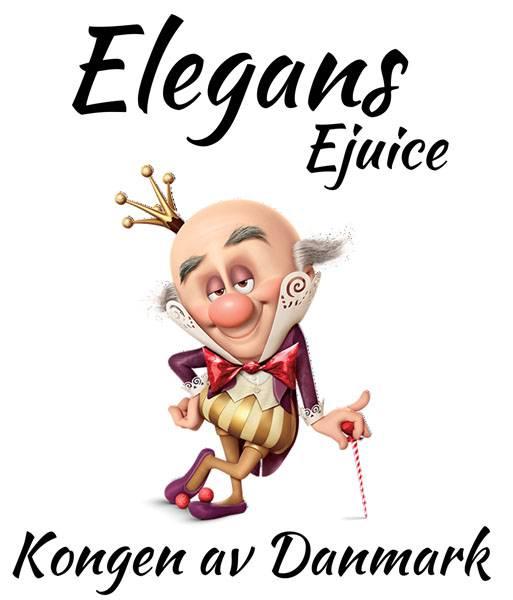 Bilde av Elegans - Kongen av Danmark, Ejuice 50/60 ml