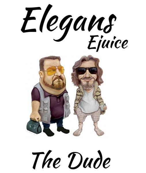 Bilde av Elegans - The Dude, Ejuice 50/60 ml
