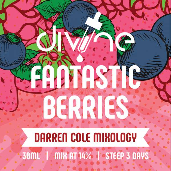 Bilde av Divine Shots - Fantastic Berries, Konsentrat 30