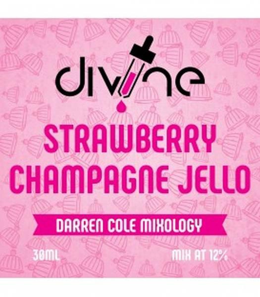 Bilde av Divine Shots - Strawberry Champagne Jello,
