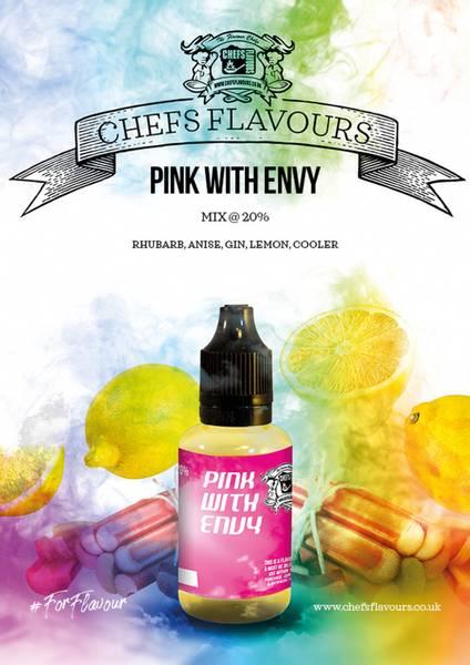 Bilde av Chefs Flavours - Pink With Envy, Konsentrat 30 ml