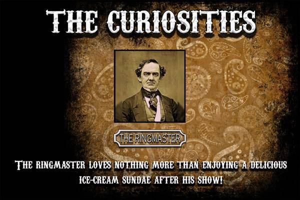 Bilde av The Curiosities - Ringmaster, Ejuice 100/120 ml