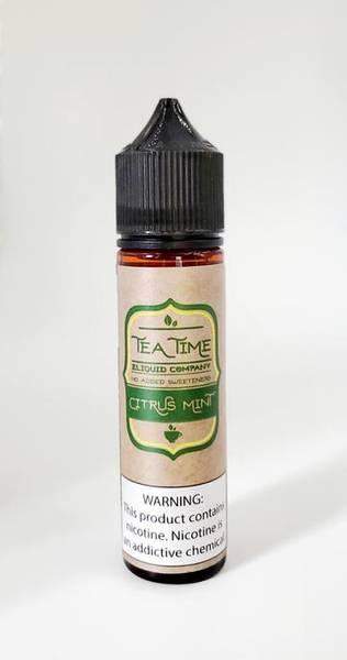 Bilde av Tea Time Citrus Mint Tea, Ejuice 60ML