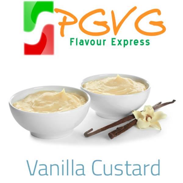 Bilde av PGVG Flavour Express - Vanilla Custard, Aroma